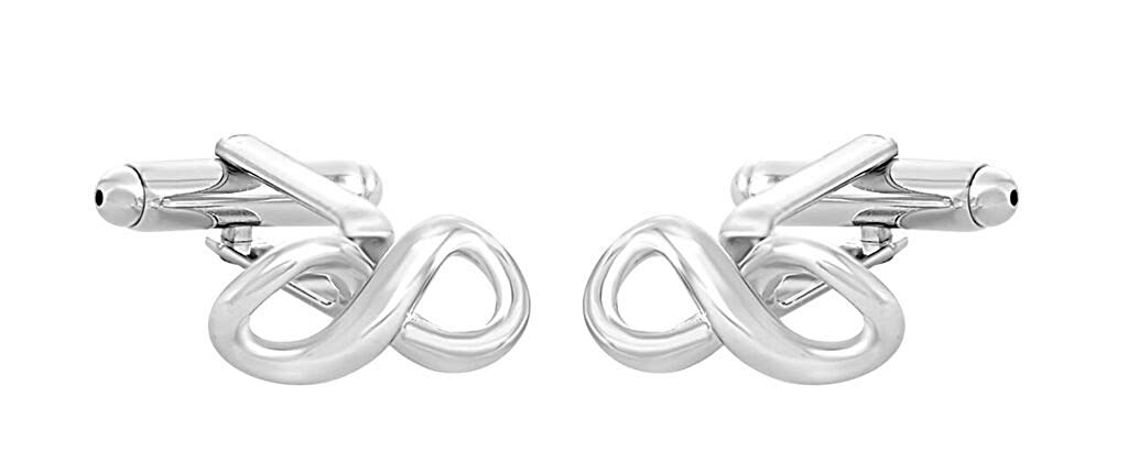 STERLING SILVER INFINITY CUFFLINKS MANUFACTURERS DIRECT PRICING!!!!