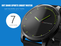 Outdoor fitness tracker Swimming waterproof smart watch