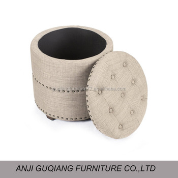 Astonishing Tufted Studded Ottoman Chair Footstool Foot Rest Chair With Ottoman Buy Round Ottoman With Storage Chair With Ottoman Foot Rest Ottoman Product On Short Links Chair Design For Home Short Linksinfo