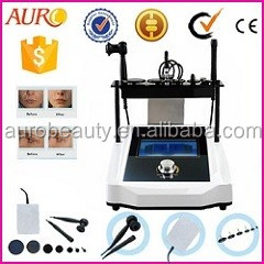AU-23F salon skin firm 7 different tips fractional rf microneedle machine wrinkle moval