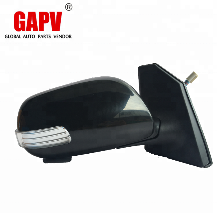 TOYOTA RAV 4 2006-/>2012 DRIVER//RIGHT SIDE DOOR//WING MIRROR GLASS SILVER CONVEX