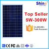 Good price 50w polycrystal solar panel for mini solar power use