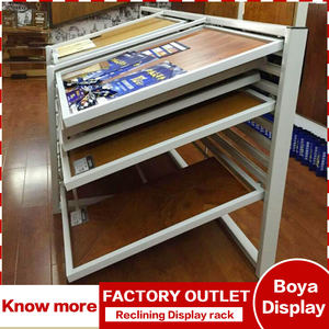 Wholesale custom horizontal sliding showroom ceramics flooring sample display