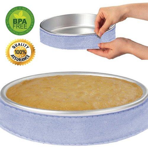 Cake Strips Cake Pan Strips Bake Even Strip Bake Even Cake Strips Bake Even Strip Set for Even Baking by MSART (1pack)