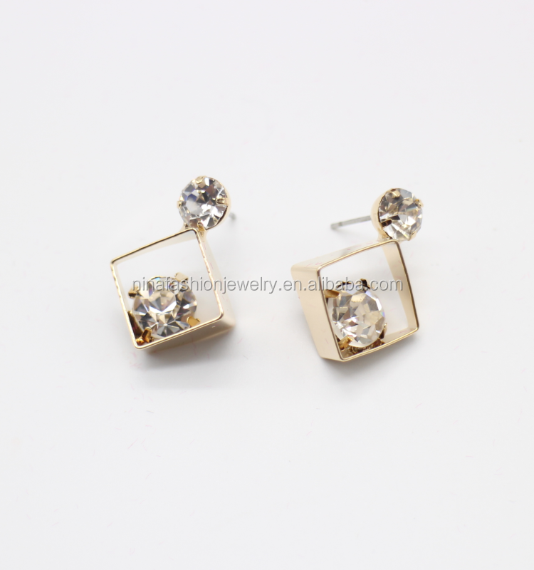 Latest small earrings design ~ beautify themselves with earrings