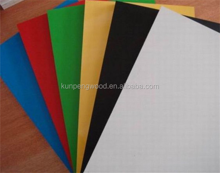 all kinds of coloured mdf for furniture