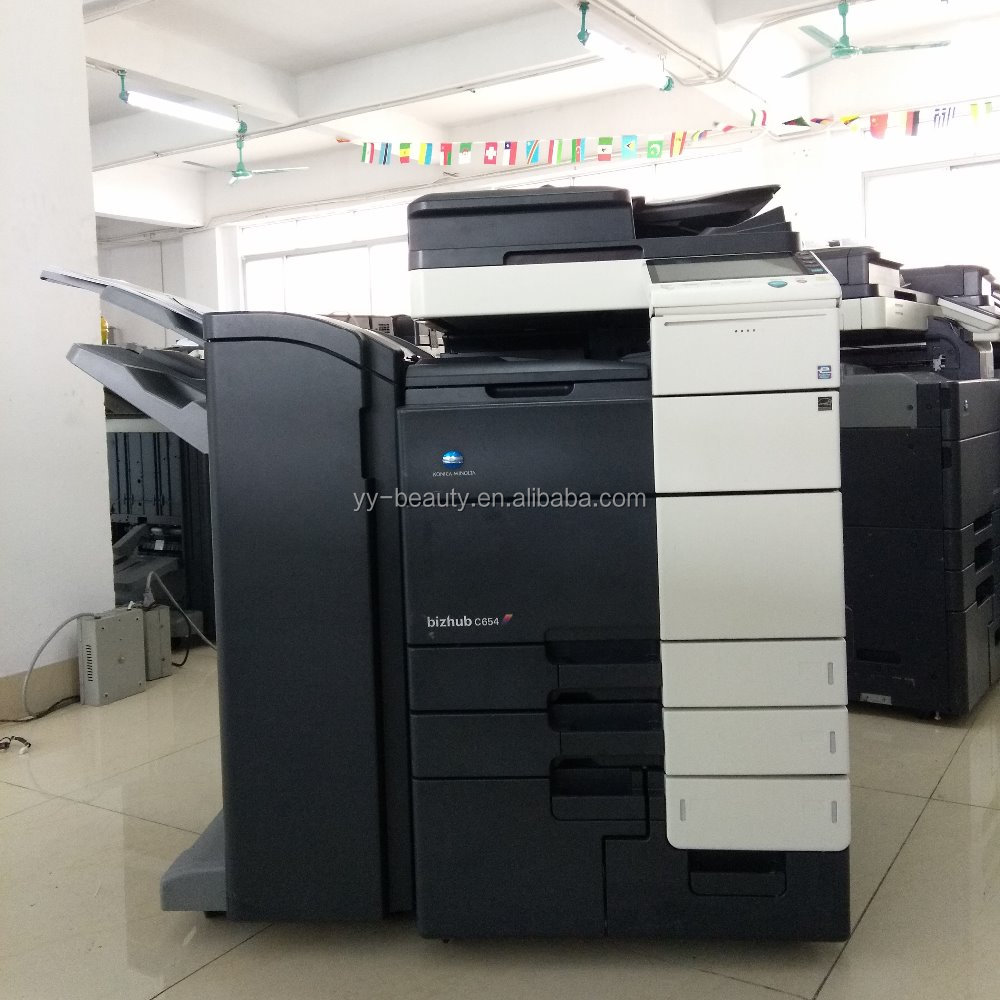 Laser Digital Reconditioned Copiers Printers For Konica Minolta C754e C654e used machine