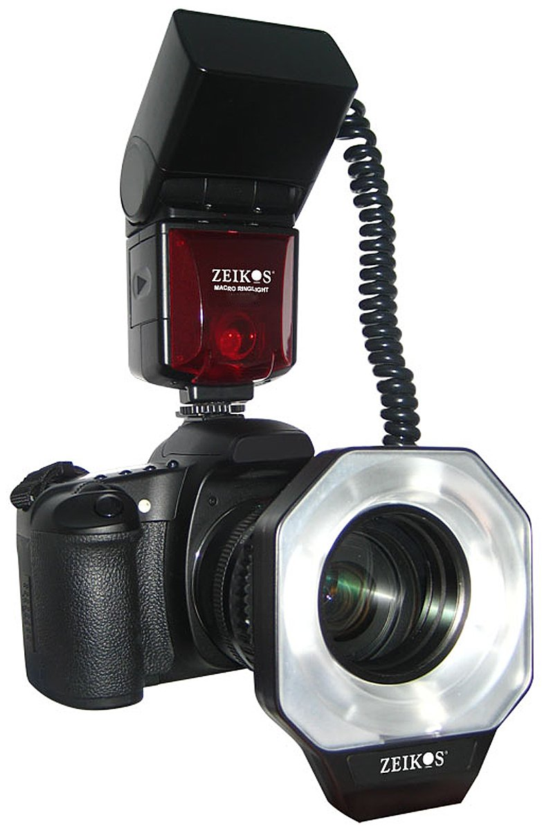 Zeikos ZE MRN1 Digital TTL Macro Ringlight Flash For Nikon