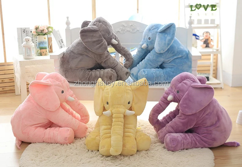 HOT SALE SOFT PLUSH CHILDREN'S WeiDang ELEPHANT WAIST ANIMAL PILLOW TOY Elephant Pillow