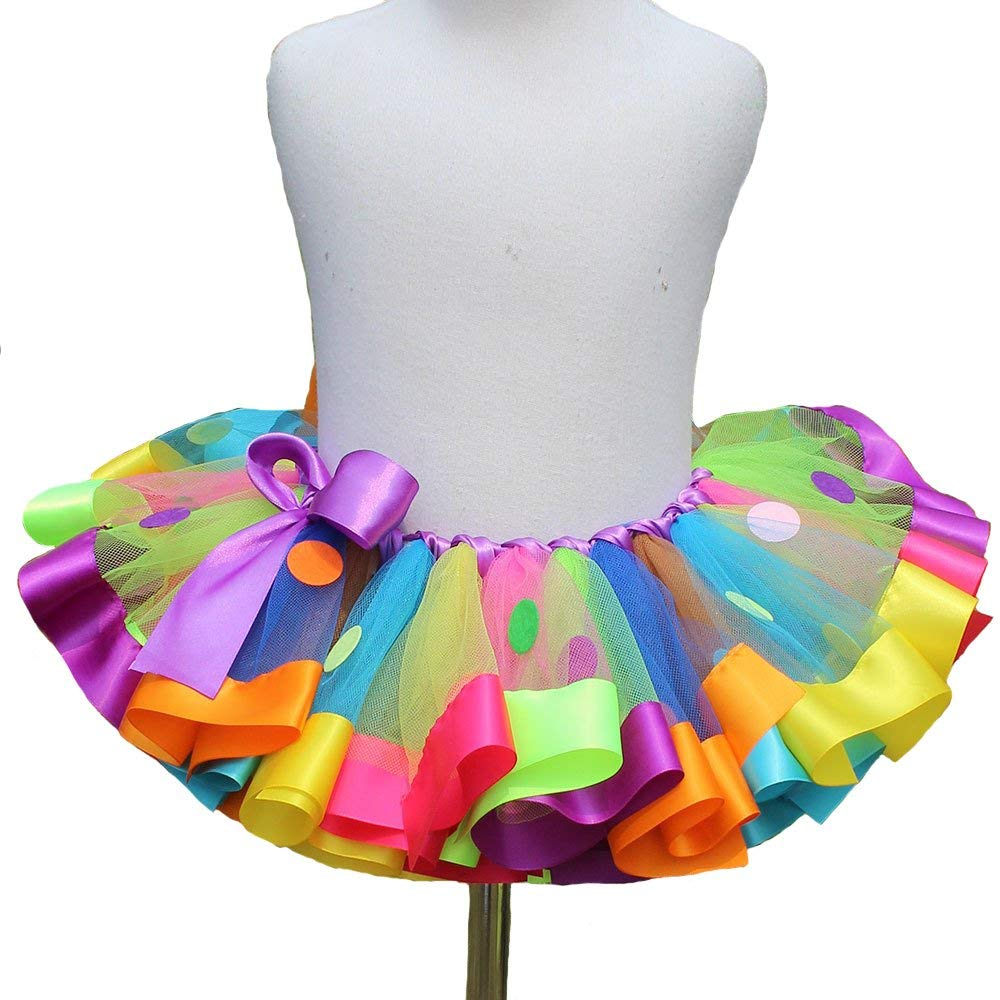 Crenstone Tutus for Girls; Tutus for Toddlers Tutus for Girls Set of 3 -- Dress Up Tutu Costumes -- Pink, Purple and Blue
