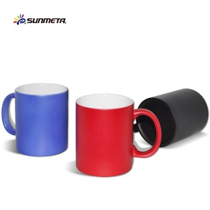 Top rated wholesale color changing cups 11oz magic mugs for sublimation