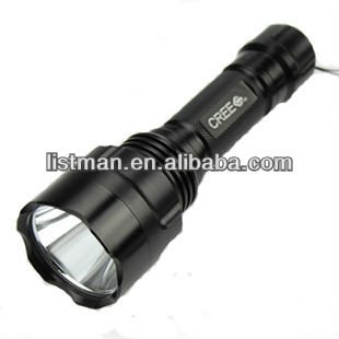 UltraFire C8 CREE XML U3 1600LM 5-Mode LED Flashlight (1 x 18650)