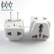 WDI-6 HK UK US to CN travel adaptor outlet double output socket plug