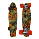 Custom print Retro girl boy Cruiser mini 22inch plastic longboard skate long board skateboard