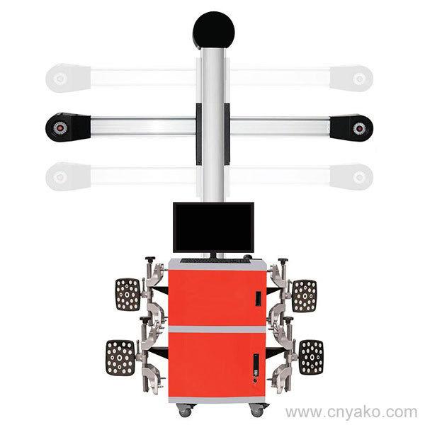 Ywa-300m 3D колеса выпрямитель комплект