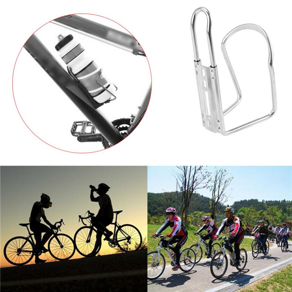 Aluminum Alloy Outdoor Mountain Bike Cycling Water Bottle Holder Cage