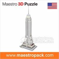 42PCS famous building design EMPIRE STATE BUILDING 3d puzzle