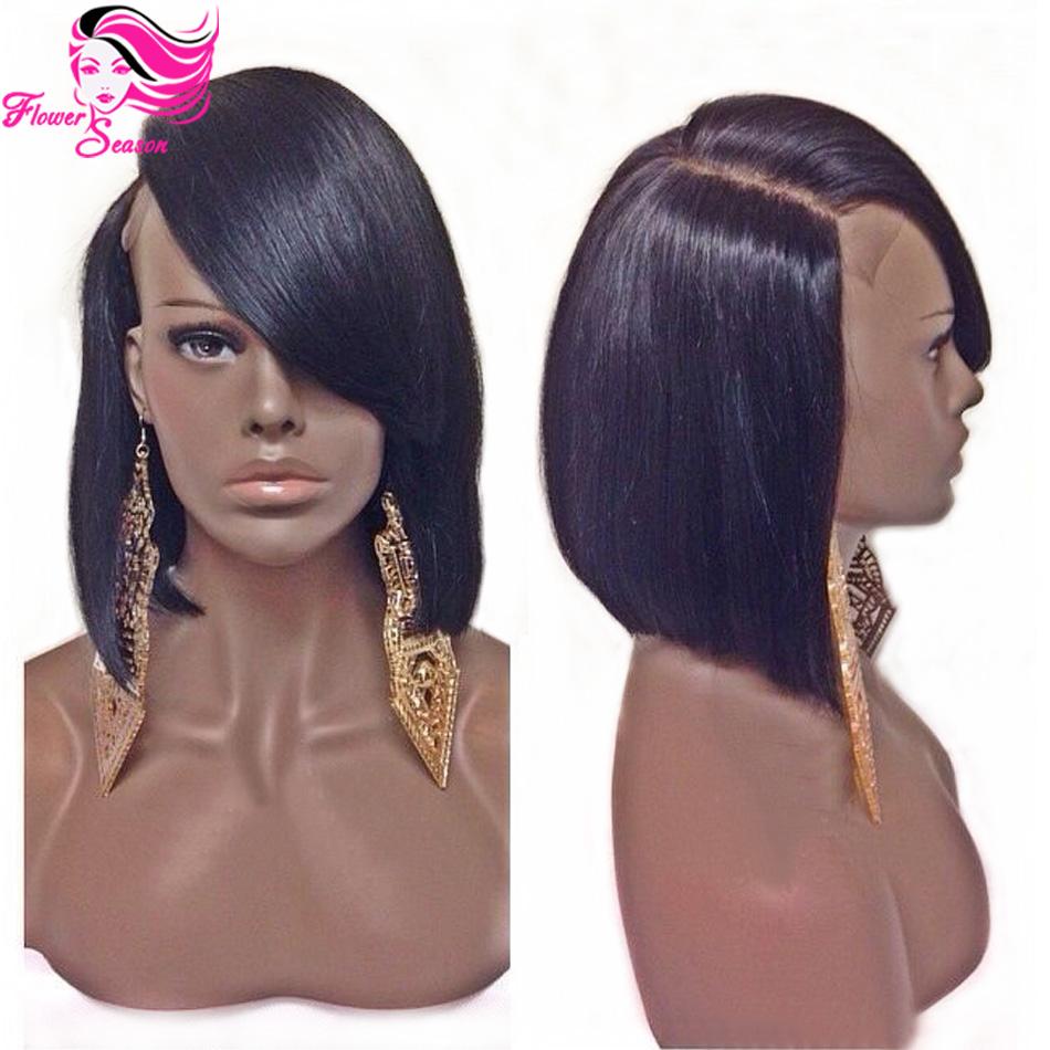 human black women wigs Short hair bob
