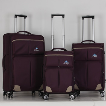 862fa9ececb55 Cheap soft polyester luggage sets travel delsey luggage wheels carry on  business suitcase traveling bag