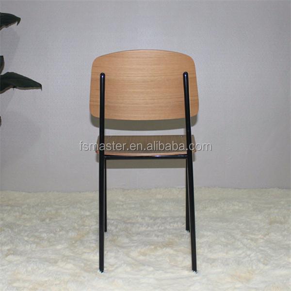 sans bras cole jean prouv standard eglise chaise chaises. Black Bedroom Furniture Sets. Home Design Ideas