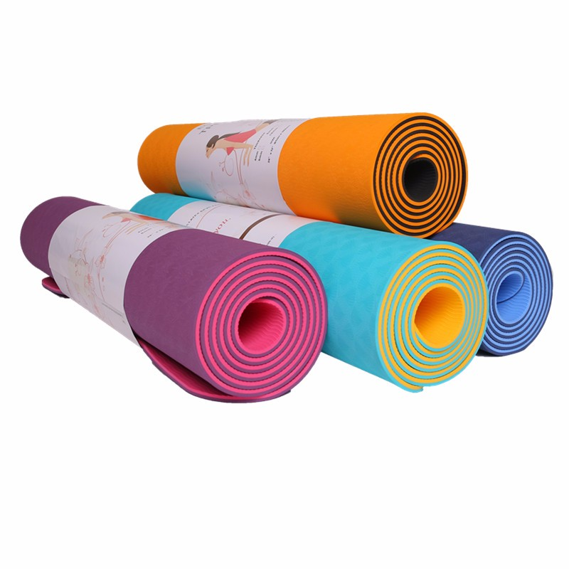 Jual Hot Yoga Mat Di Bawah Akuarium Kerikil Trainer Bike