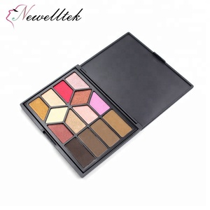 Cosmetic Custom No Name 4 Color Eyebrow 10 Eyeshadow Palette Mixing Shimmer Matte Eyebrow Powder