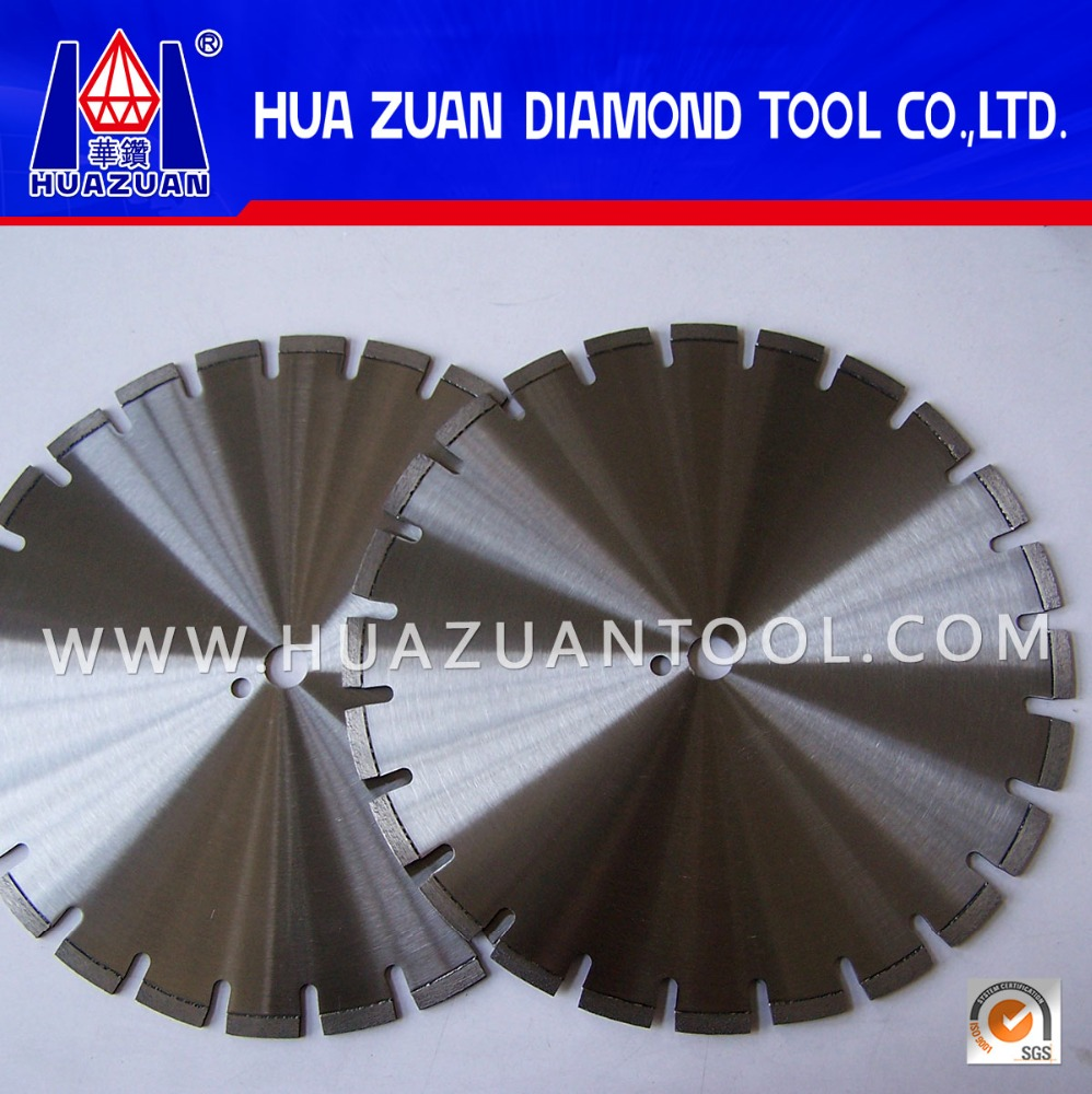 Professional laser welding 14 inch diamond saw blades for cutting concrete pavement