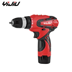 YIJIU 2018 new YIJIU brand 12V battery1.3/1.5ah 10mm drill capacity,mini high performance 12V cordless drill