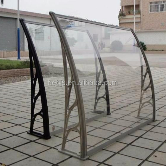 glass good quality tempered awning stainless steel canopy