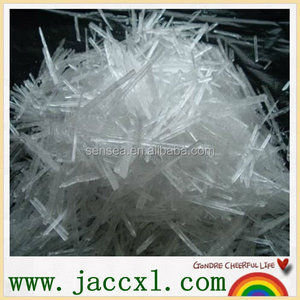 Wholesale China manufacturer natural High Purity 99% Menthol Crystal
