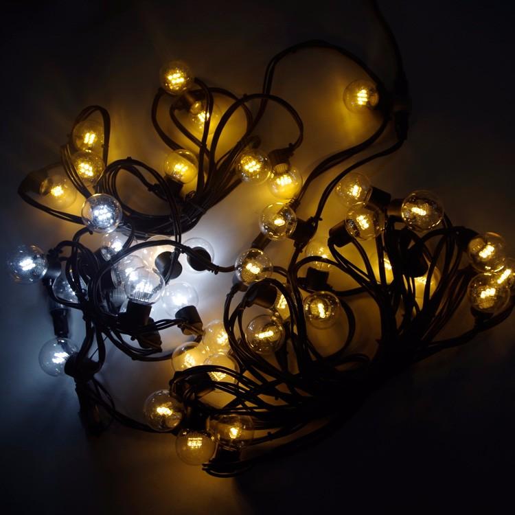 g45 bulb festoon string light christmas decorative fairy. Black Bedroom Furniture Sets. Home Design Ideas
