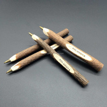 promotional recycled Twig Pen, Wooden Ballpoint Pen