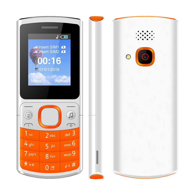 "Econ No.2 1.77"" Dual SIM Card Quad Band 600mAh Battery Low Price GSM cheap Mobile Phone"