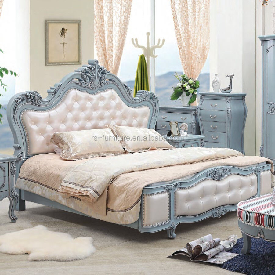 Furniture At Wholesale Prices: Bule Colors Modern Bedroom Discount Furniture 2015 Bedroom