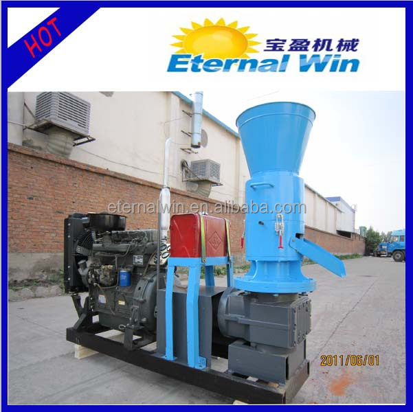 Energy saving 250-450kg per hour pellet machine used prices