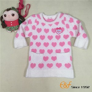 Wholesale Sweater Knitting Patterns Children Pullover Kids Clothing