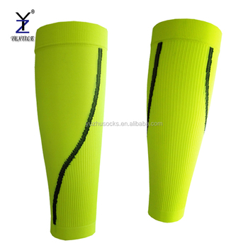 Running compression sleeve calf leg graduated sleeve reflective