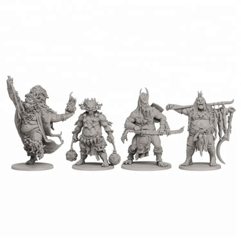 shenzhen toys factory custom plastic board game miniature figures