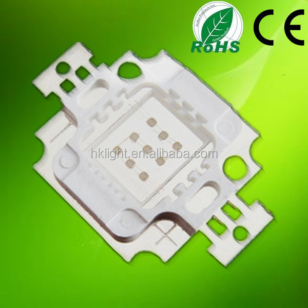 Red Green Blue Color Rgb Led Chips 10w 6 Pin Rgb Led