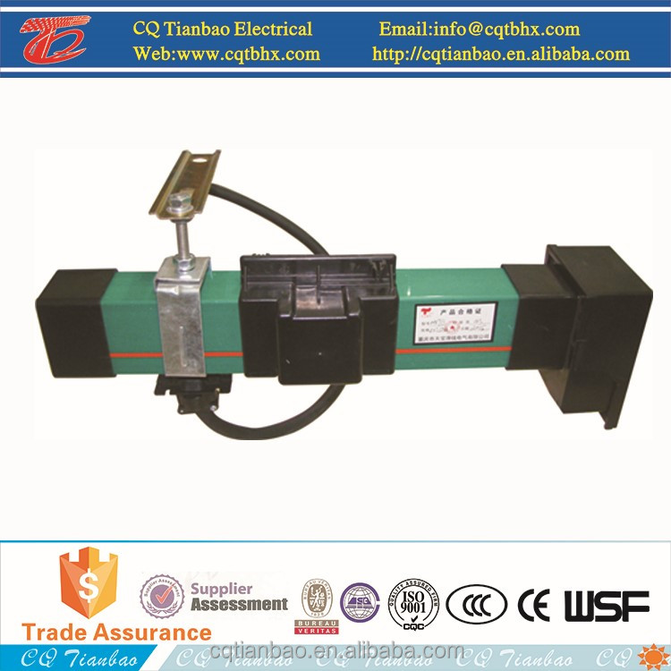 50A-300A Enclosed Conductor Crane Power Rail