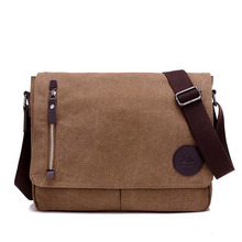 New Retro Fashion Men Canvas Messenger Bag British Style Large Capacity Creative Design Single Shoulder Bag For Travel MT101288