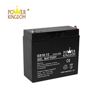 High quality gel battery 12V 18AH VALR AGM sealed lead acid battery rechargeable battery CE certificated