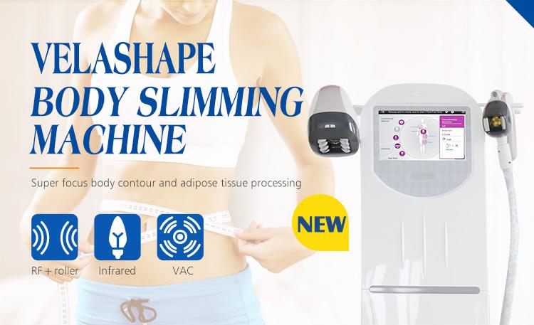 Velashape máquina de emagrecimento / vela suave para salão de beleza spa