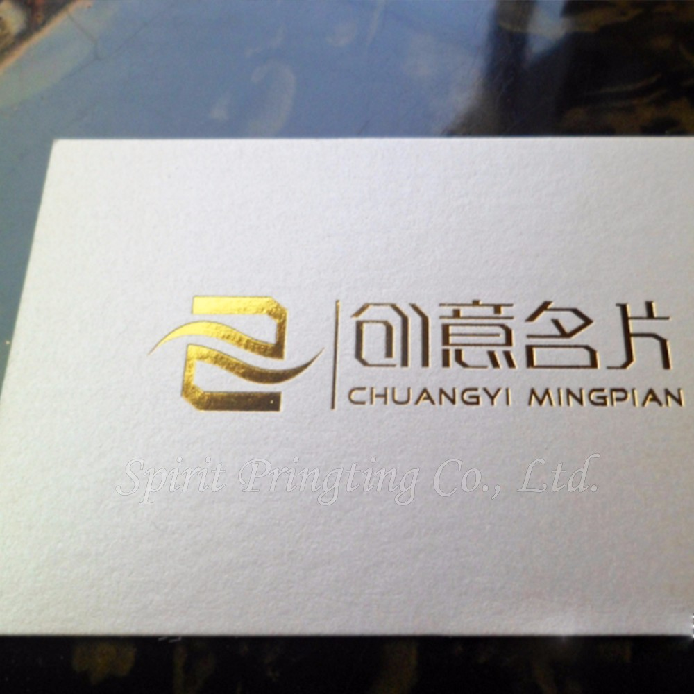 Debossed Business Card Printing Color Changing Business Cards - Buy ...
