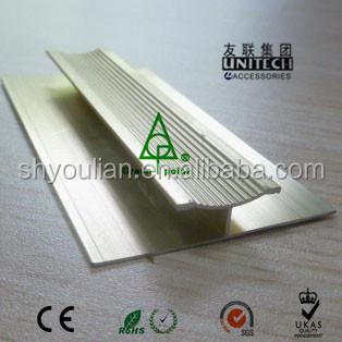 Aluminum Connecting Transition Strip For Carpetor Pvc Floor Dz20