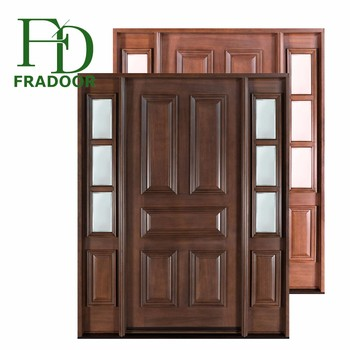 Latest Design Solid Wood Spanish Style Doors