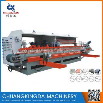 CKD-1200 Automatic Marble Tiles Making Stair Step Skirting Polishing Machine