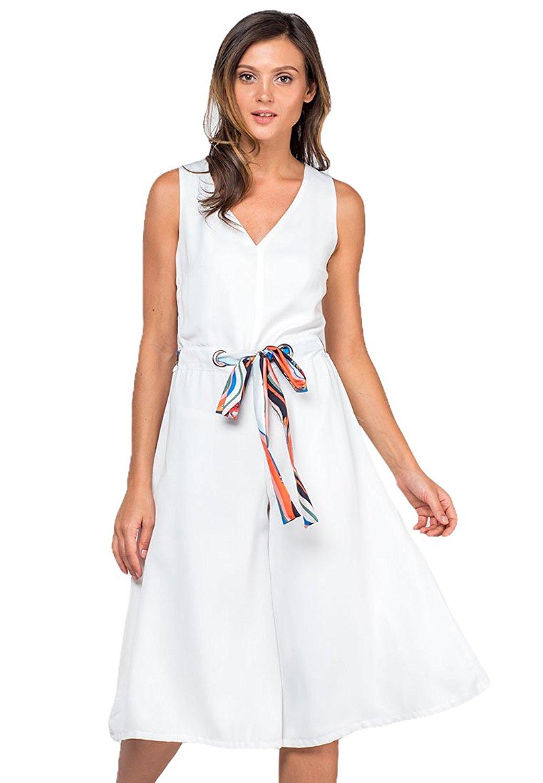 0860db3c3ca Get Quotations · Plains and Prints Womens Vidal Sleeveless Pantsuit
