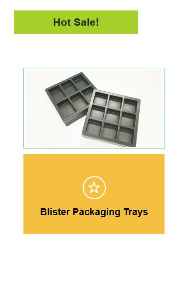 Customized vacuum forming plastic packaging clamshell clear blister clam shell folded package