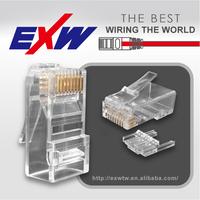 Wholesale wire connector plug socket cat6 rj45 modular plug connector price